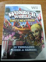 Wonder World Amusement Park (nintendo Wii, 2008) Brand Sealed