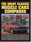 The Great Classic Muscle Cars Compared by Brooklands Books Ltd (Paperback, 1999)