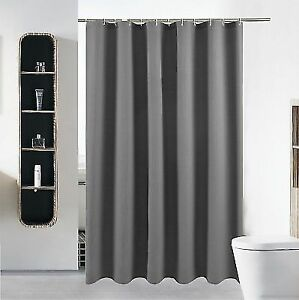 Buy Extra Long Fabric Shower Curtain Or Liner Set For Bathroom