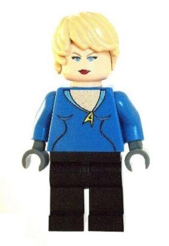 Custom Designed Minifigure Nurse Chapel Star Trek Printed On LEGO Parts