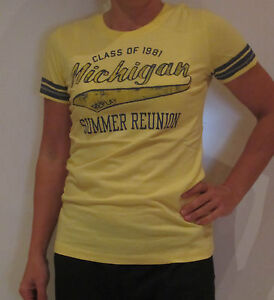Details about Replay Logo Tee Shirt [Size XS] Ladies T Shirt Print Yellow Shirt New & Ovp