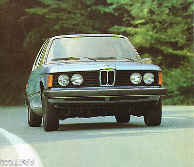 1977 Bmw 320i / 320 I Distributore Opuscolo/catalog Processi Di Tintura Meticolosi