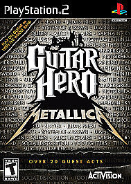 Guitar Hero Metallica Sony PlayStation 2, 2009 PS2 Complete TESTED - $24.00