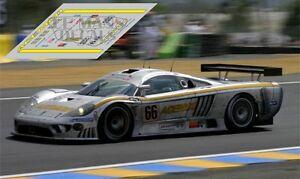 Juste Calcas Saleen S7r Le Mans 2006 66 1:32 1:43 1:24 1:18 Slot