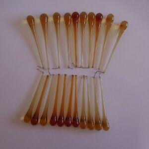 21-pampilles-verre-ambre-cristal-design-art-deco-eclairage-lustre-France-N3452