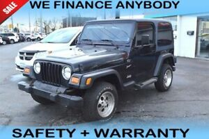 2002 Jeep TJ Sport 4X4