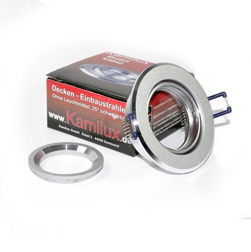Plafonniers gu10 COB LED 3w blanc chaud kaltweiß installation projecteur Balu k5402 230v