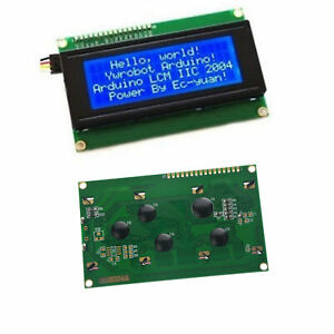 Blue-Serial-IIC-I2C-TWI-2004-20X4-Character-LCD-Module-Display-For-Arduino-Tool