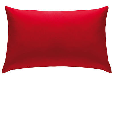 Housewife Pillowcases Polyester Cotton NON IRON 19 Colours Catherine Lansfield