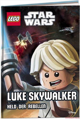 Libro specializzato LEGO ® Star Wars ™ Luke Skywalker con molte immagini eroe dei ribelli