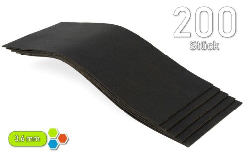 200 betún 250x100x3,6mm coche karosseriedämmung bitumenmatte//5 m² mega-b3640