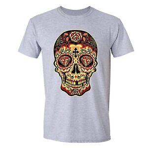 Sugar-Skull-Day-of-the-Dead-T-shirt-Diamond-Mexican-Gothic-Dia-Los-Muertos-shirt