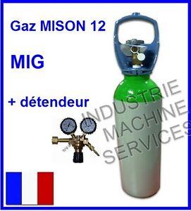 Bouteille de gaz linde mison 12 mano detendeur poste a souder soudage mig ebay - Detendeur bouteille de gaz ...