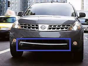 Bumper Trim For 2006-2007 Nissan Murano Front