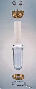"""Köpp Hauswasserfilter DN 25 1"""" Trinkwasserfilter Tiefenfilterkerze Zubehör"""