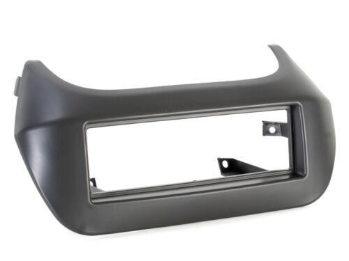 Fiat Fiorino a partir de 2009 radio del coche diafragma marco radio diafragma 1-din gris oscuro