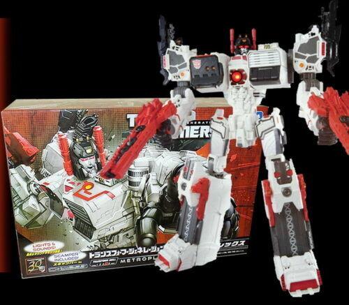 Hasbro  Transformers LG-EX Metroplex Japanese version Large base in stock