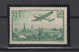 AG4874-FRANCE-AIRMAIL-Y-amp-T-A14-MINT-MNH-CERTIFICATE-CV-2375