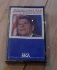 REAGAN ronald FREEDOM'S FINEST HOUR president Cassette- SEALED