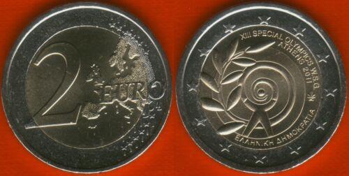 "Greece 2 euro 2011 /""World Summer Games — Athens 2011/"" BiMetallic UNC"