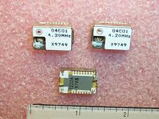 Qty 25 04c01 420mhz Motorola 42 Mhz Vco Oscillators Nos 1 Tube