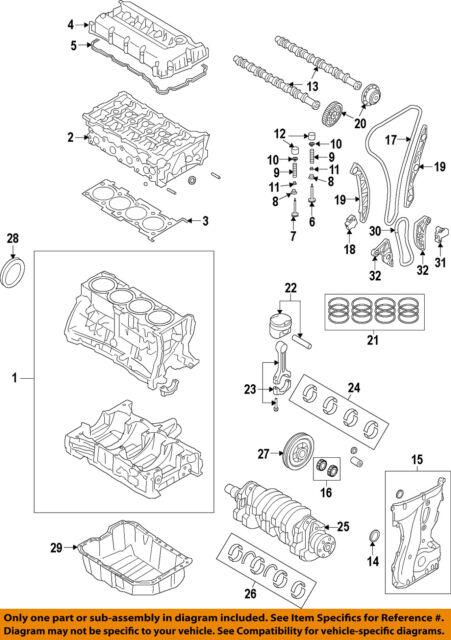 mitsubishi oem 08-15 lancer-engine cylinder head 1005b271