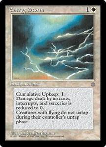 OtBG MTG Magic Rare LP Light Play Energy Storm  ICE Ice Age  Reserved List