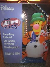 Disney Gemmy Airblown Inflatable Christmas Tigger #15724 Retired 2003