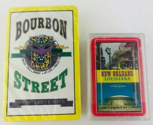New Orleans Souvenir Playing Cards Bourbon Street Mini Cards New Hong Kong