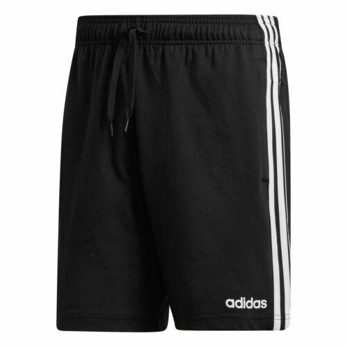 Colori: Nero o Blu scuro ADIDAS Da Uomo Essentials 3-Stripe Jersey Pantaloncini