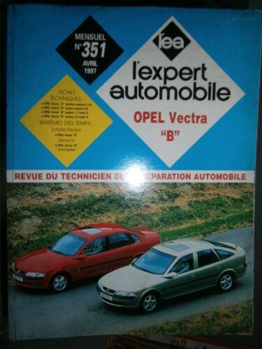 revue technique EA 351 Opel VECTRA B