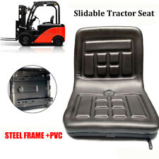 Lawn Amp Garden Slidable Black Tractor Seat Pvc Riding Mower Fits Most Brands Us