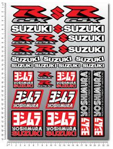 Details Zu Suzuki Gsxr Sticker Set 29 Decals Laminated Gsx R 600 1000 Yoshimura K5 K7 L1