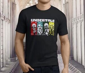 t shirt black Undertale Video Game Character Skeleton Sans men woman available