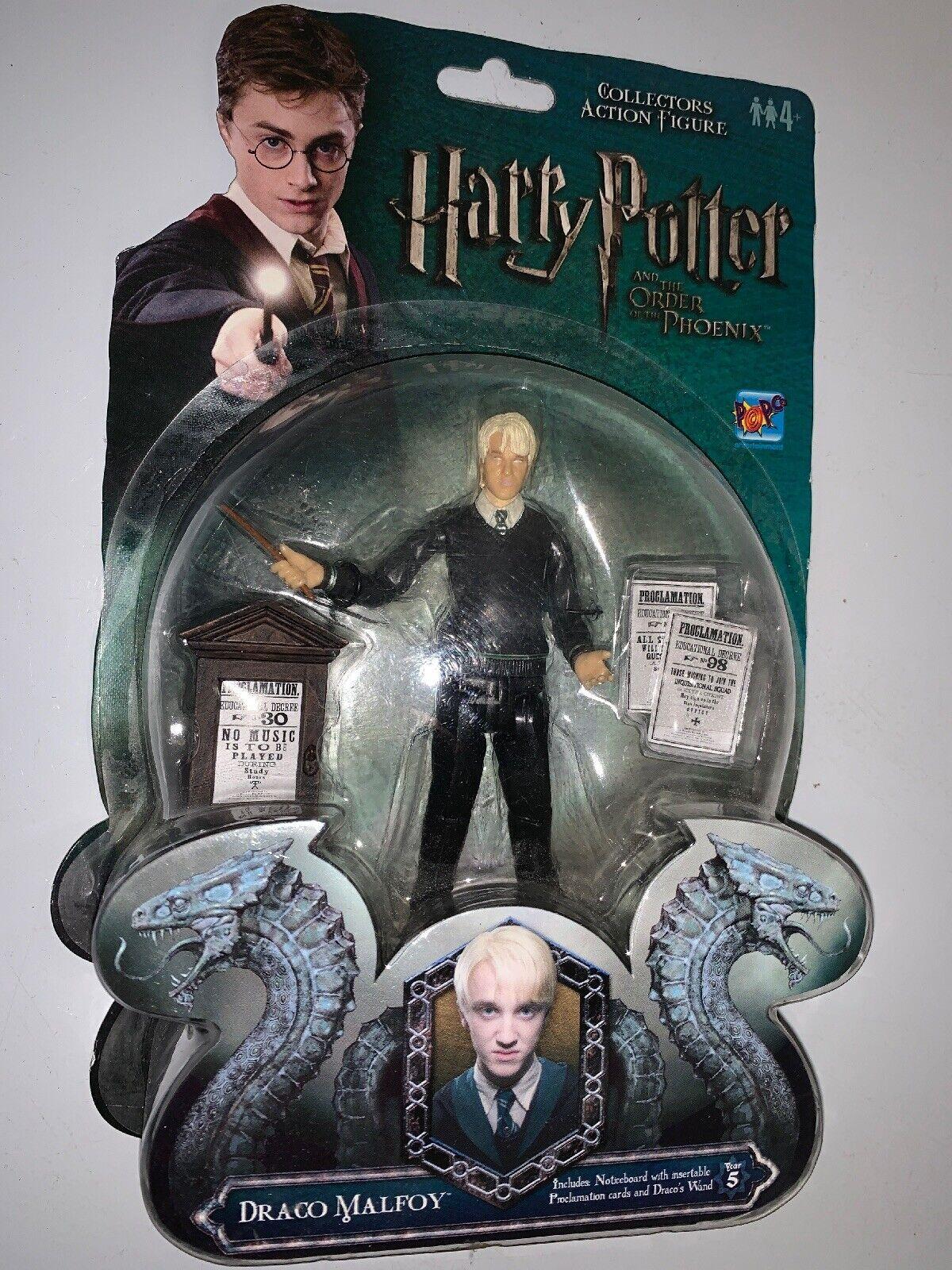 Draco Malfoy Popco Action Figur 3  4 65533;65533; UK Exklusiv Harry krukmakare Order Phoenix
