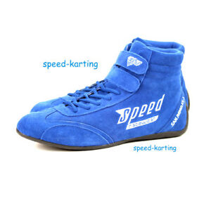 Speed-Kartschuhe-Blau-San-Remo-KS-1-Kart-Motorsport-Schuhe-Karting-Shoes