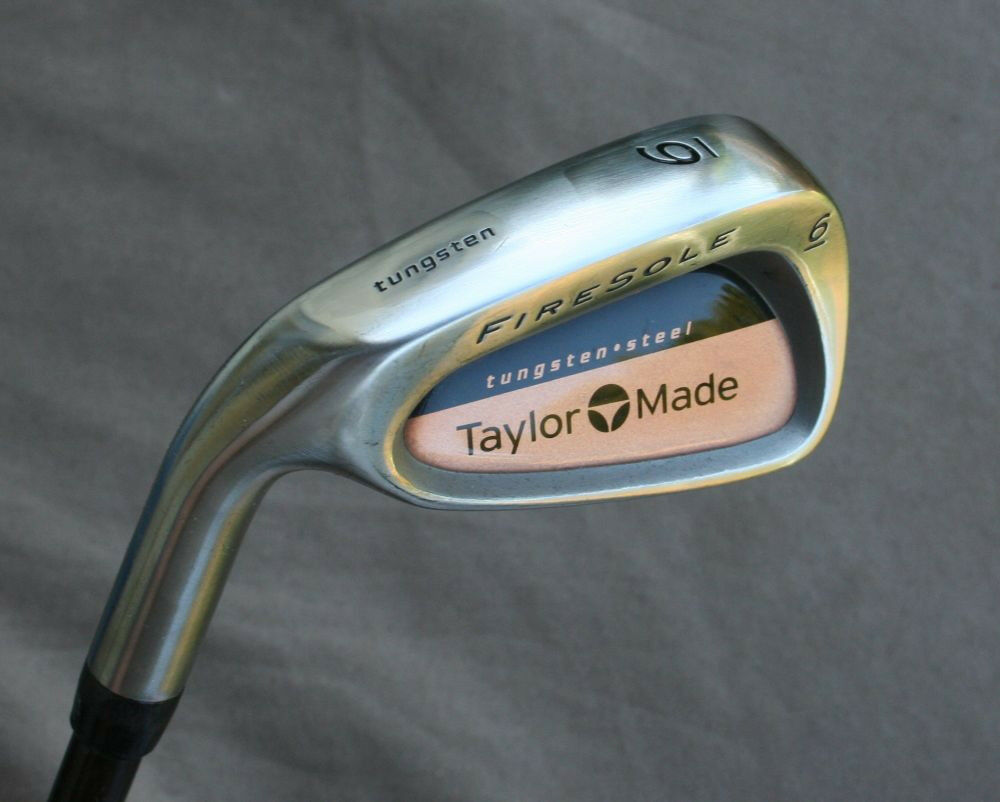 TaylorMade Left Hand Firesole 6 Iron Bubble R-80 Graphite