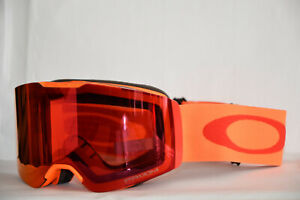 f9a60d56dff35 Oakley Fall Line Neon Orange Prizm Torch Oo7085-17 Ski Goggles ...