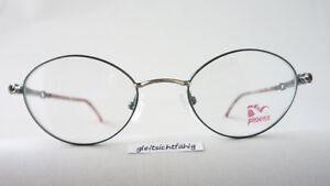 M Kunststoffbügel Zierliche Form Gr Leichte Brille Für Damen Aus Metall Grün