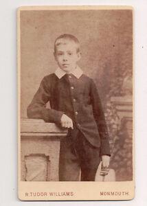 Vintage-CDV-Christopher-Williams-R-Tudor-Williams-Photo-Monmouth