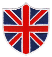 bf63 Union Jack UK Flagge Großbritannien Aufnäher Bügelbild Patch 6,9 x 7,8 cm