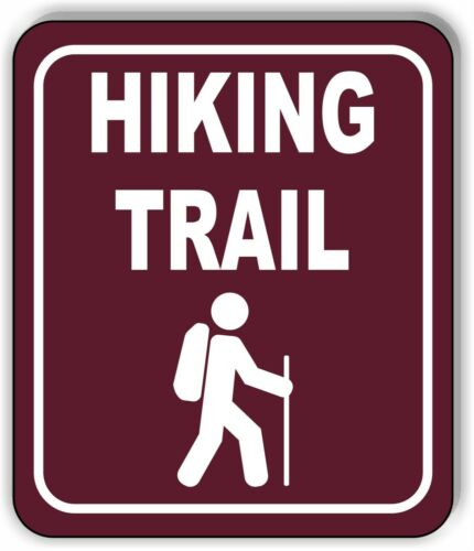 Hiking Trail Camping Outdoor Safety Metal Aluminum Composite Sign