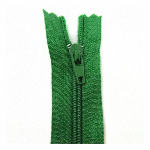 NYLON OPEN ENDED ZIPS for womens lenth 12 inch multy colours