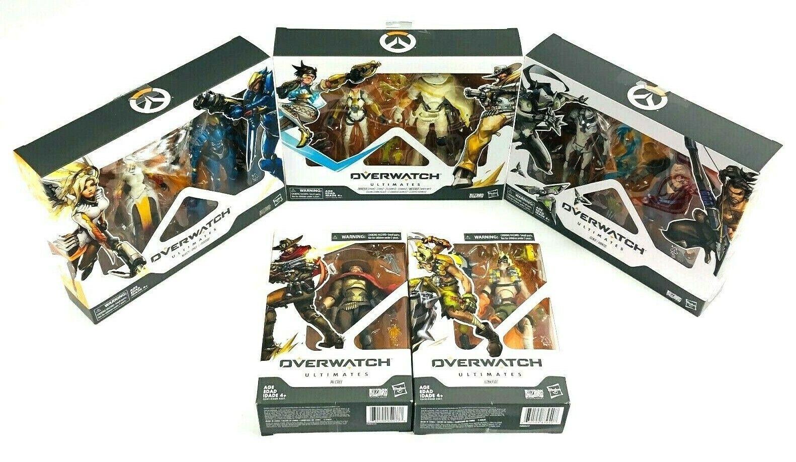 Overwatch Ultimates Hanzo Genji Tracer McCree Mercy Ange pharah junkrat Nuevo en Caja Lote
