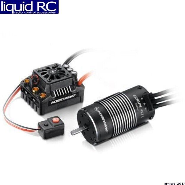 Hobbywing 38010400 Max8 Esc Combo W  Ezrun 2200kv Motor T-Plug