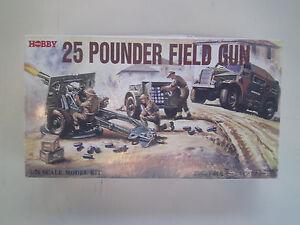 Details about 1/76 ( 20mm ) scale WWII 25 Pounder British Field Gun & Crew