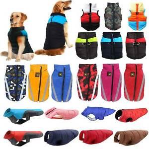 Haustier Hund Kleidung Hundejacke Hundemantel Jacke Warm Weste Hund Wintermantel