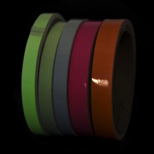 Removable Green Blue Aqua Orange Waterproof Glow in the Dark Luminous Tape