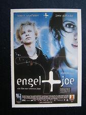 Filmplakatkarte cinema  Engel + Joe   Jana Pallaske, Robert Stadlober