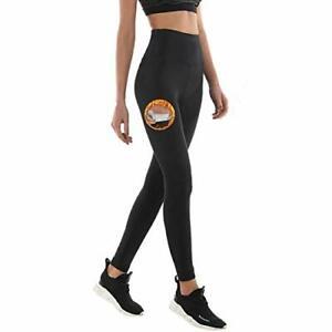 NHEIMA Pantalon de Sudation Legging de Sport Femme Fitness à Taille Haute - L...